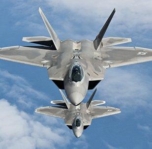 Los F-22 Raptor de EEUU