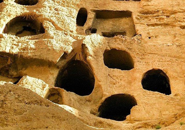 Una excavación arqueológica, imagen referencial