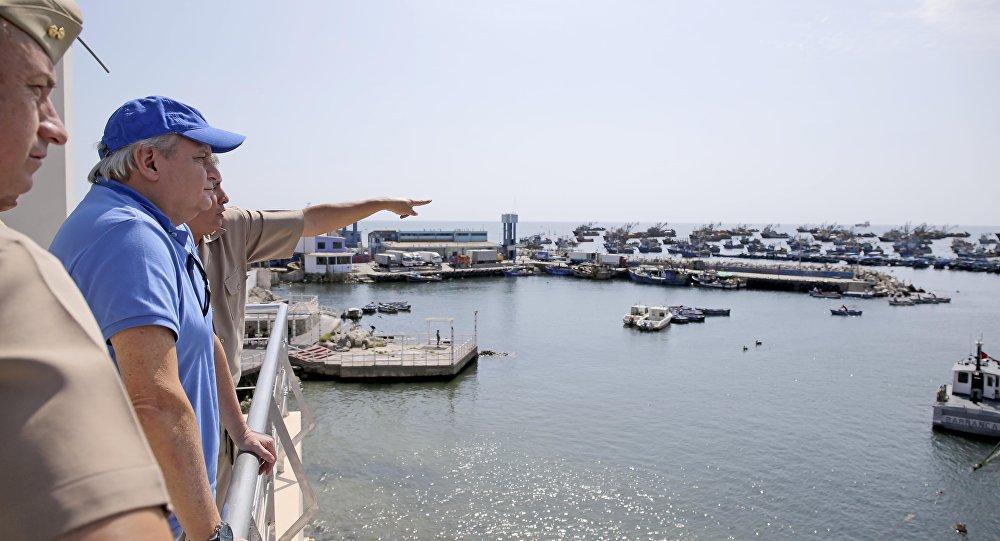 Un puerto en Perú (archivo)