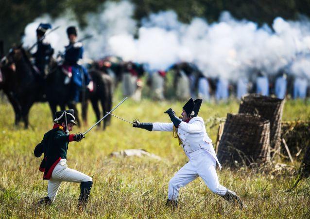 La batalla de Borodinó se reanuda cerca de Moscú