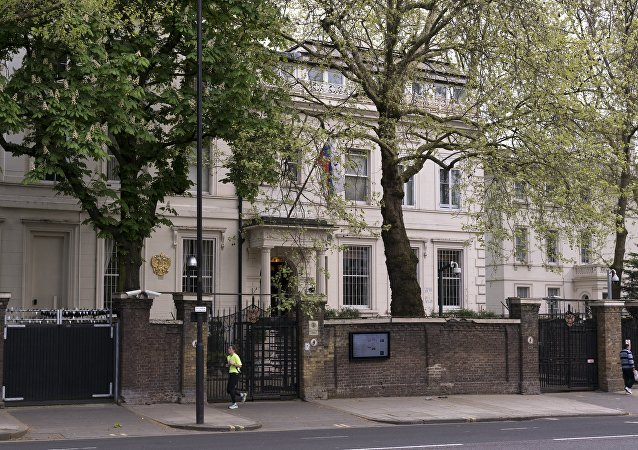 La embajada de Rusia en Londres, Reino Unido (imagen referencial)