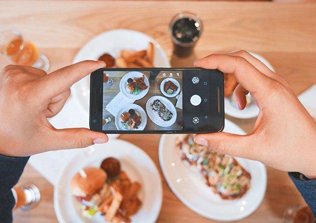 Fotos de la comida, referencial