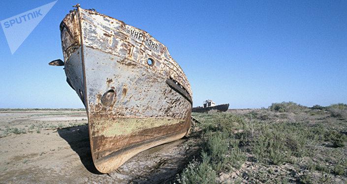 El desierto de Aral en 1994