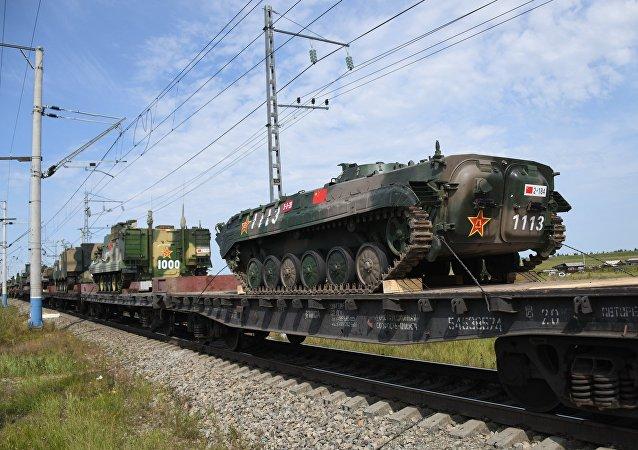Preparativos para las maniobras Vostok 2018
