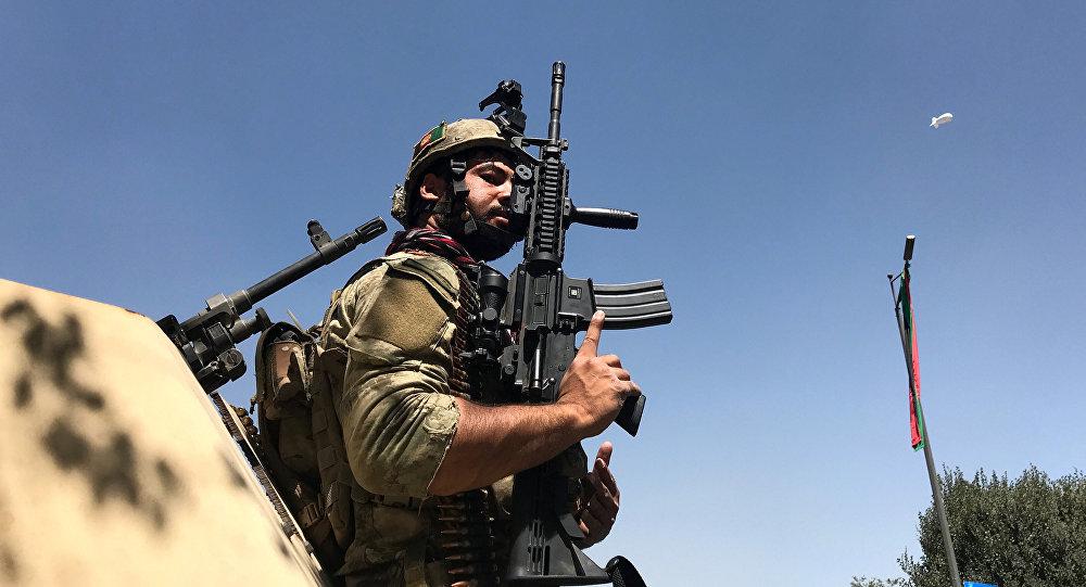Un policía de Afganistán (archivo)