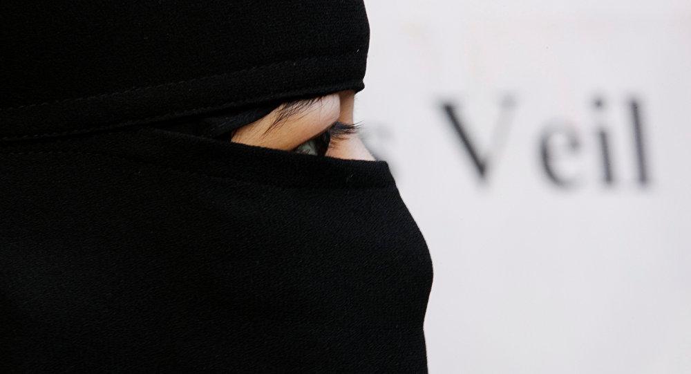 Una mujer musulmana