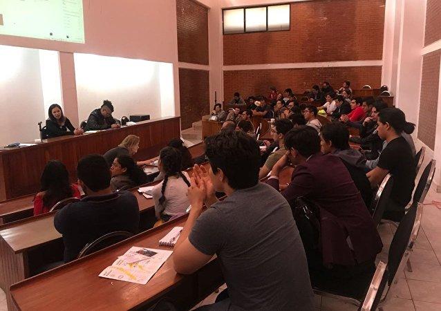 Sesión informativa en el Centro Cultural Rusia-México
