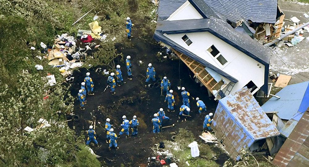 Terremoto en Hokkaido