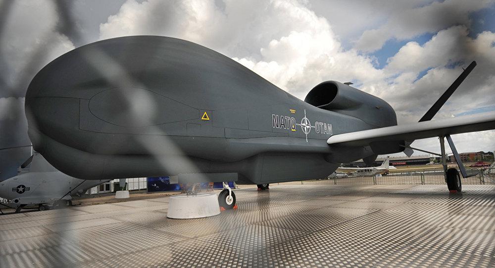 Aparato no tripulado RQ-4 Global Hawk (archivo)
