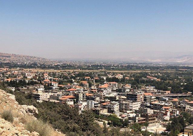 Valle de Bekaa, en la frontera entre el Líbano y Siria