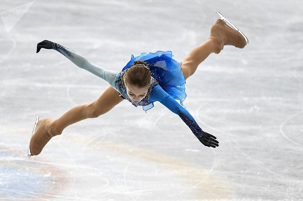 Alexandra Trusova, patinadora rusa