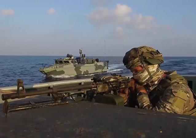 Las fuerzas especiales rusas 'luchan contra los piratas' en el Mediterráneo