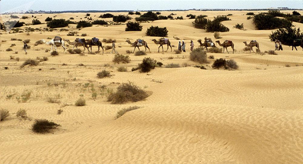 El desierto del Sahara