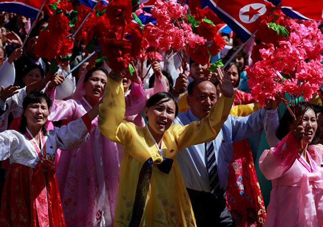 Los norcoreanos celebran el 70 aniversario de la RPDC