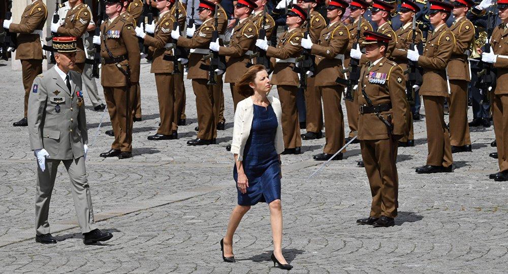 Florence Parly, ministra de Defensa de Francia