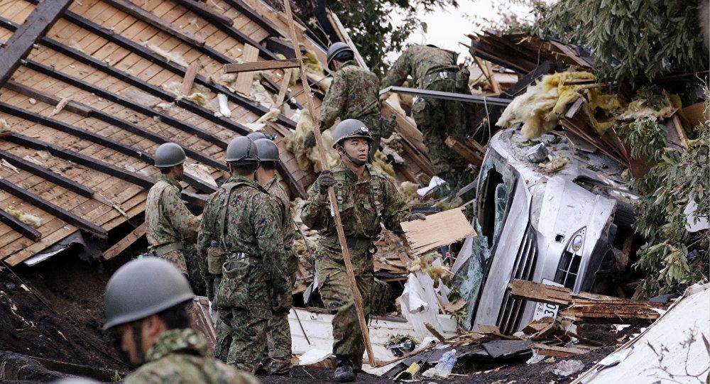 Consecuencias del terremoto en Hokkaido, Japón