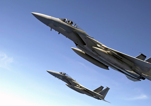 Caza F-15 (imagen referencial)