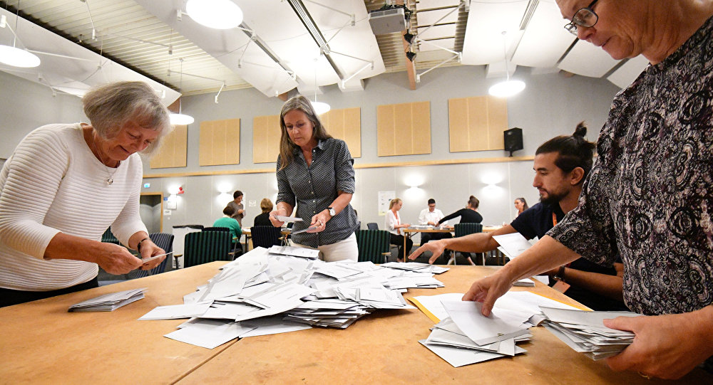 Elecciones en Suecia