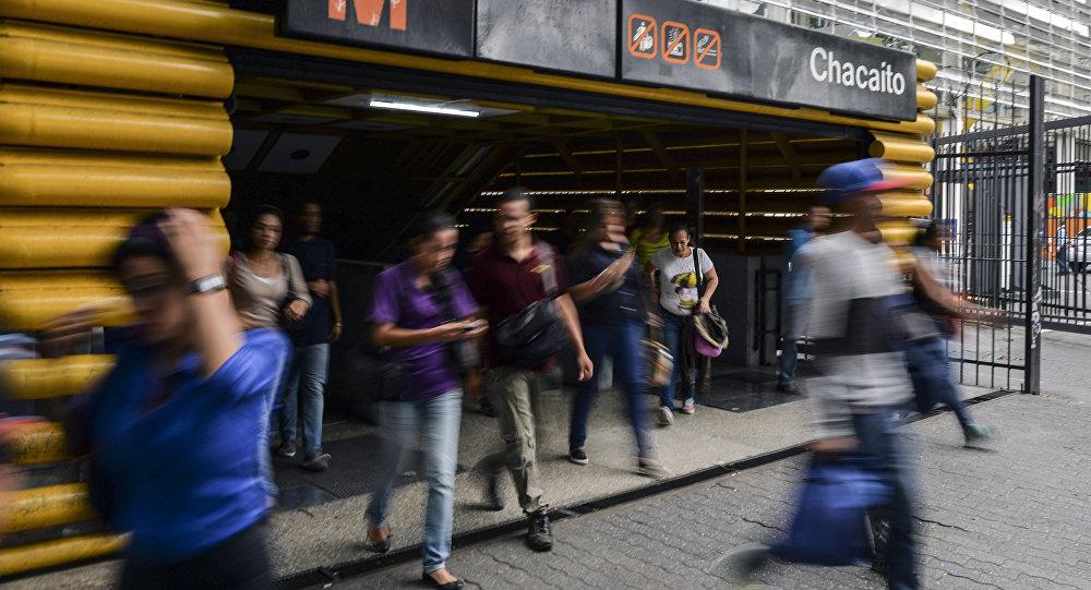 Estación del metro de Caracas