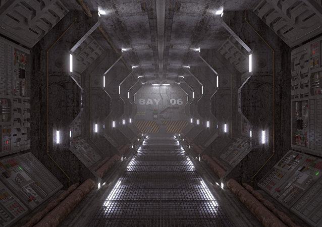 Nave espacial (imagen referencial)