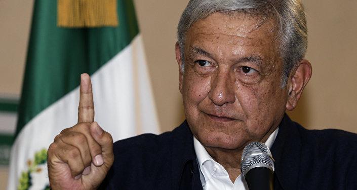 Andres Manuel Lopez Obrador, presidente de México