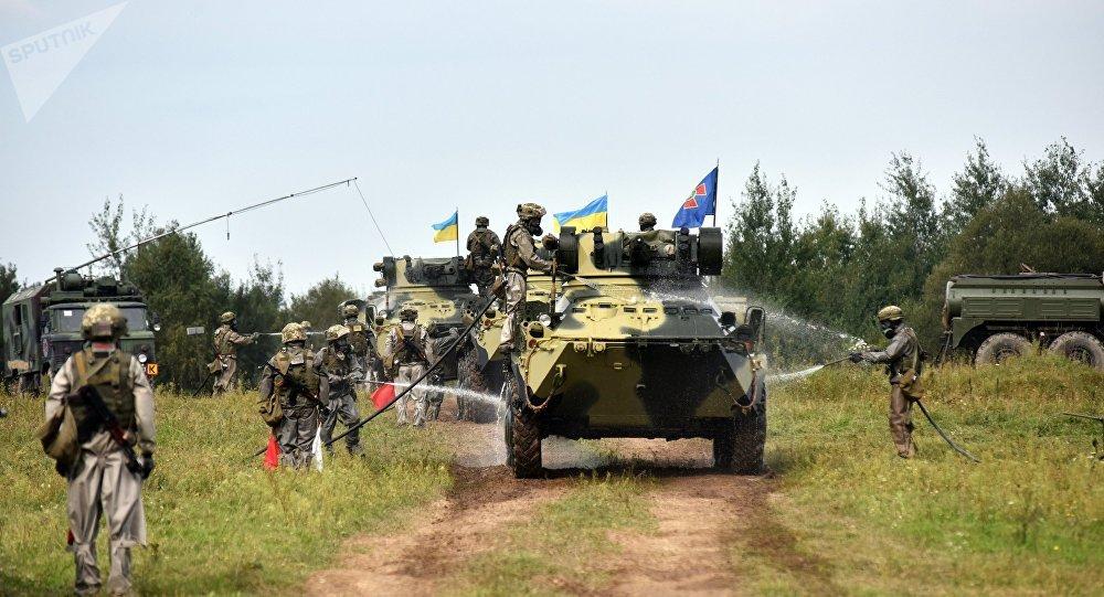 La fase activa de los ejercicios Rapid Trident en Ucrania