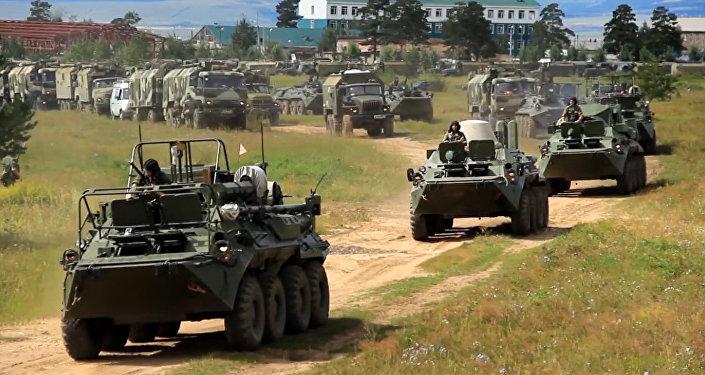 Arrancan los ejercicios más multitudinarios en la historia moderna de Rusia