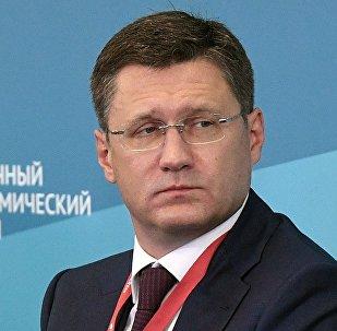 Alexandr Nóvak, ministro de Energía ruso