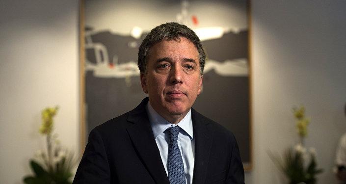Nicolás Dujovne, ministro de Hacienda de Argentina