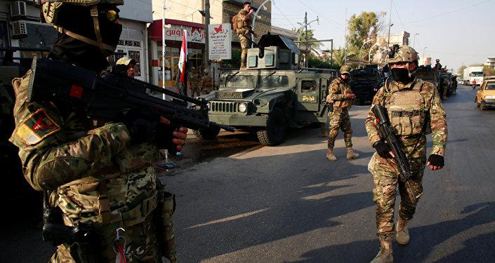 Situación en Basora, Irak