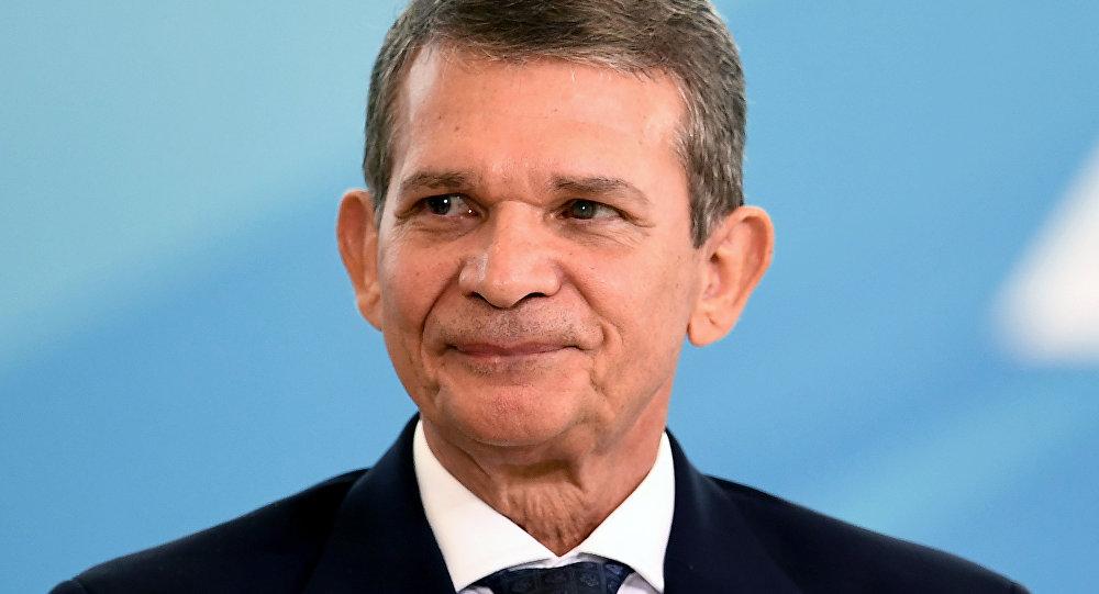 Joaquim Silva e Luna, ministro brasileño de Defensa