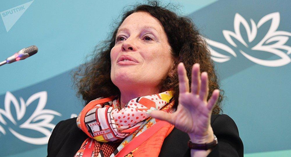 Sylvie Bermann, embajadora francesa en Rusia