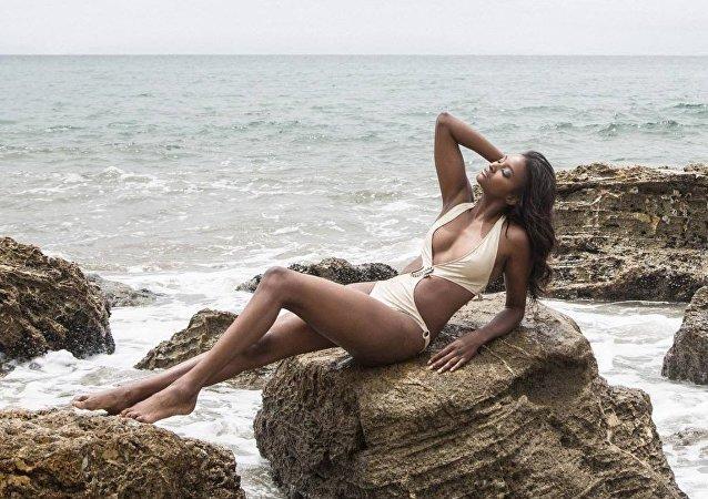 La modelo y desarrolladora de Victoria's Secret, Lyndsey Scott