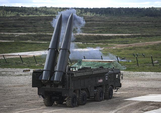 Sistema de misiles Iskander-M (archivo)