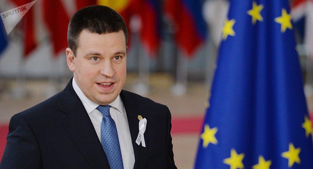 Juri Ratas, primer ministro de Estonia (archivo)
