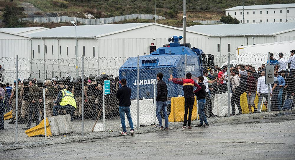 La policía turca detiene obreros de la construcción del nuevo aeropuerto de Estambul