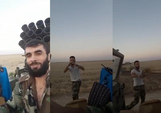 #KikiChallenge en el Ejército sirio
