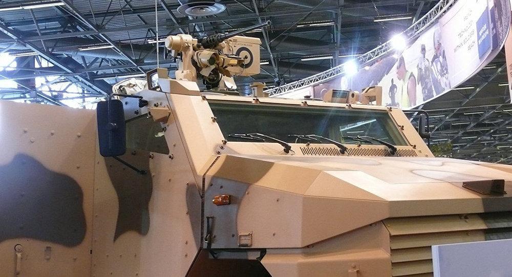Vehículo de infantería Aravis (Archivo)