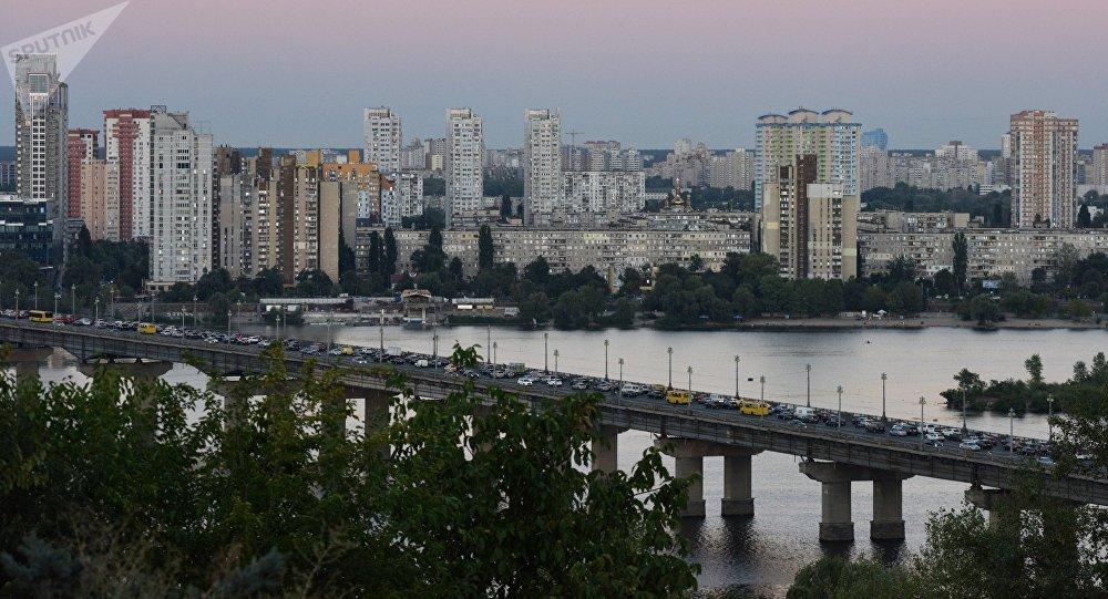El puente de Paton en Kiev (Archivo)