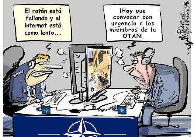 La OTAN se prepara para responder a los ciberataques rusos si la ocasión se pone a tiro