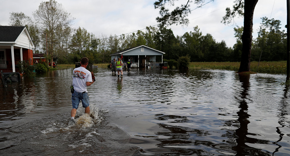 Consecuencias del huracán Florence en EEUU