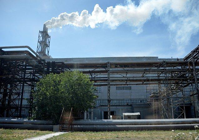 La fábrica KrimskiTitan