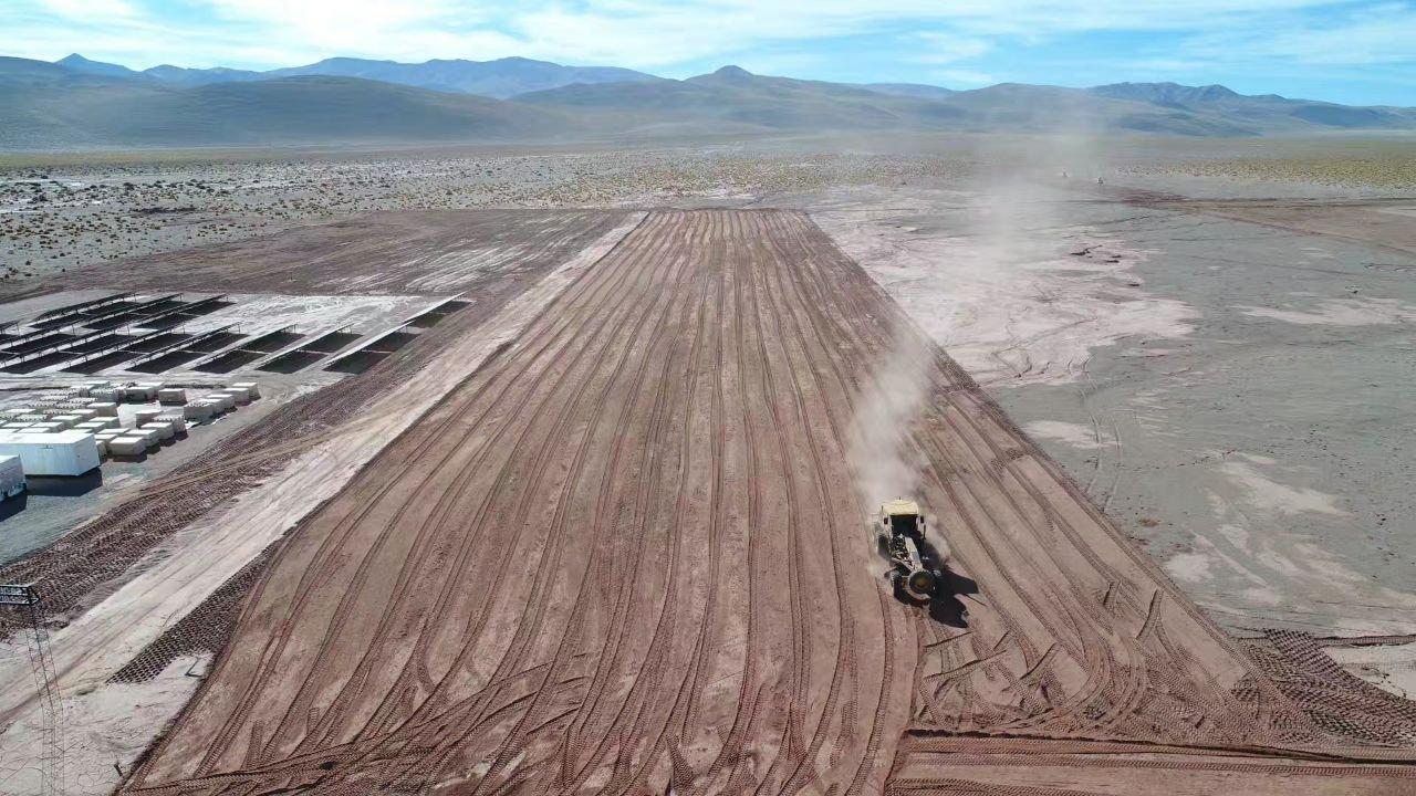 La radiación solar en la Puna argentina es de 2.500 kilowatts por metro cuadrado, sólo comparable con el desierto del Sahara