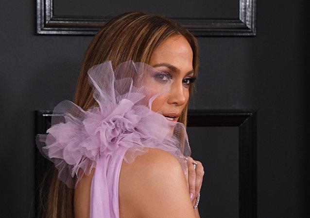 Jennifer Lopez, la actriz y cantante estadounidense