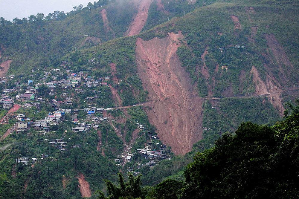 Alerta máxima: el supertifón Mangkhut causa estragos