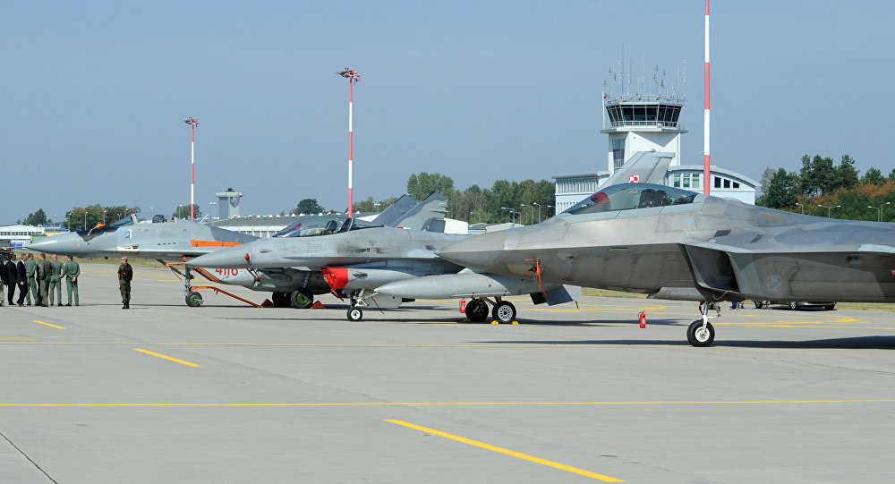Base militar en Polonia (imagen referencial)