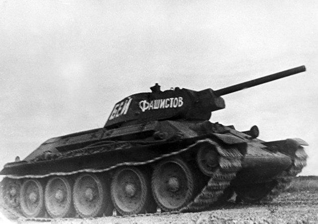 Tanque soviético T-34