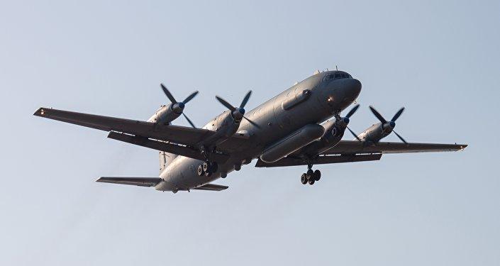 El avión ruso Il-20 (archivo)