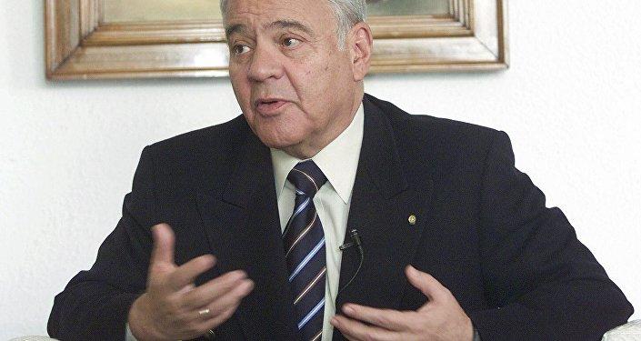 Expresidente Gonzalo Sánchez de Lozada (1993-1997 y 2002-2003) (archivo)