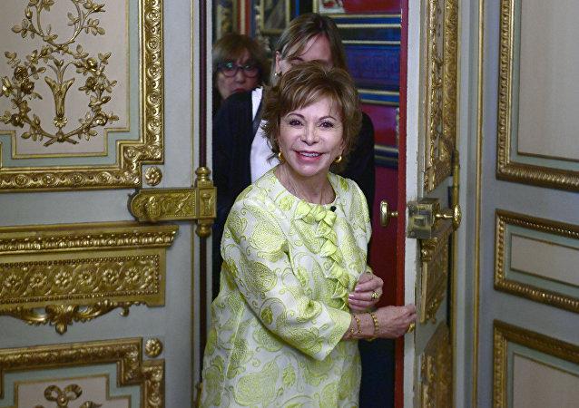 Isabel Allende, escritora chilena